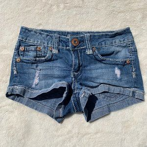 Hydraulic Juniors Distressed Shorts